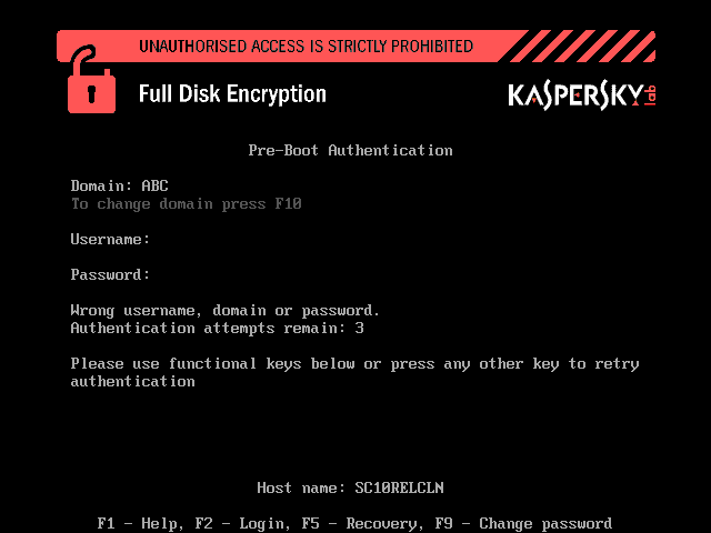 Kaspersky Security for Business Encryption