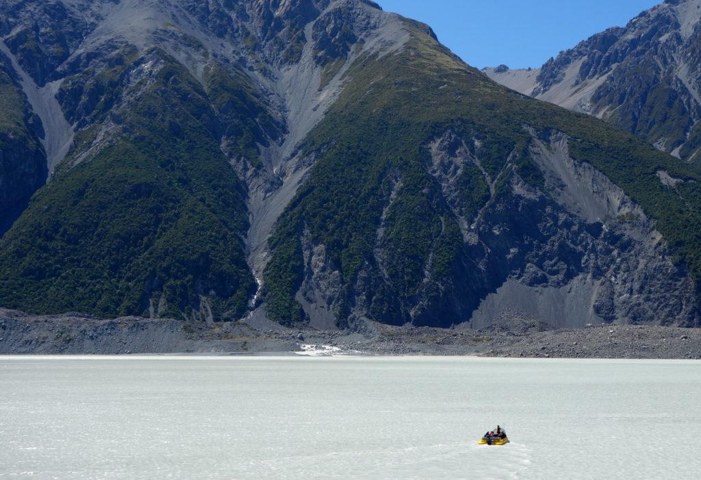New Zealand - Tasman Glacier