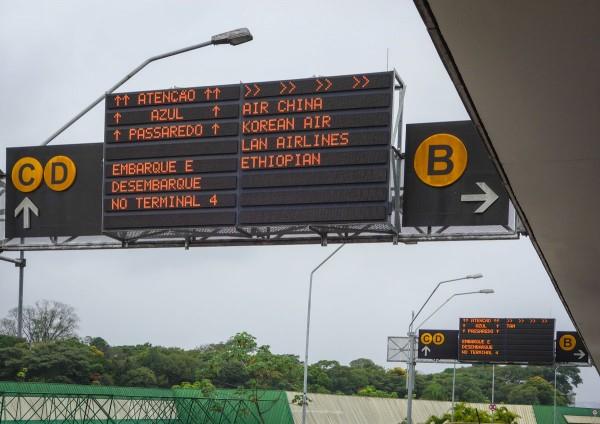 Alternative way to get to Brazil.. via Addis Abeba!