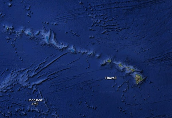 The story of Hawaii archipelago