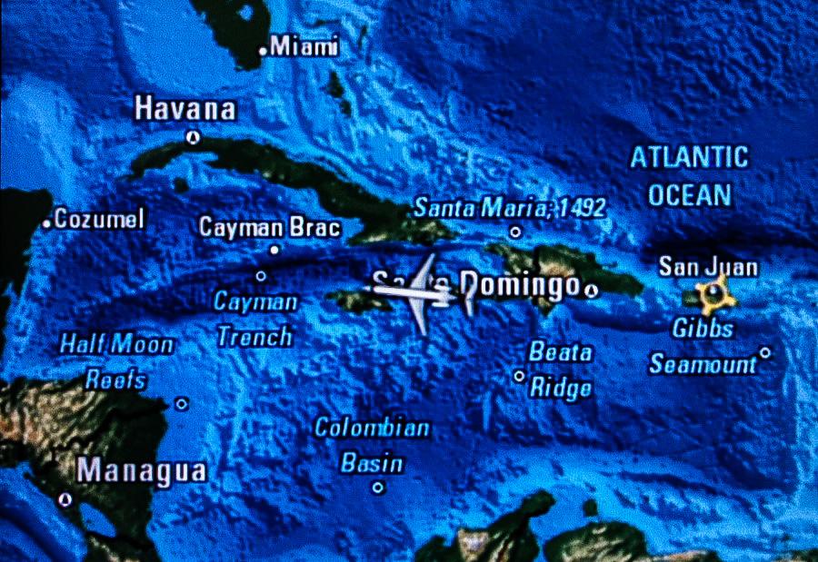 Меж Кубой и Ямайкой