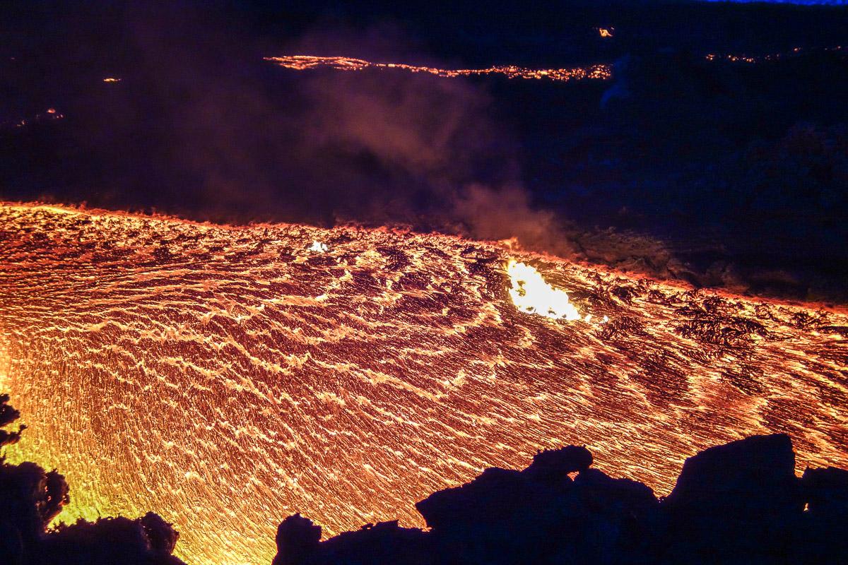 Извержение Толбачика на Камчатке