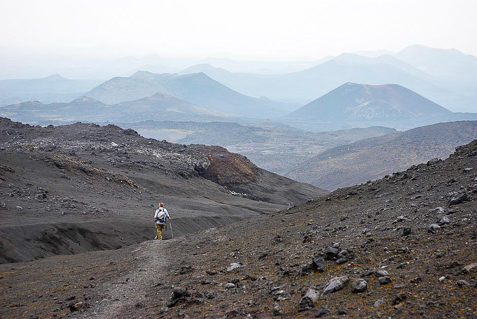 Tolbachik eruption, Kamchatka, wallpaper