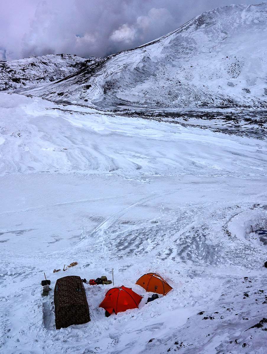 Tolbachik eruption, Kamchatka