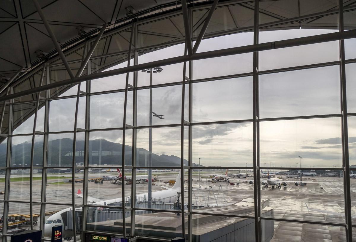 Чхеклапкок - это аэропорт Гонконга