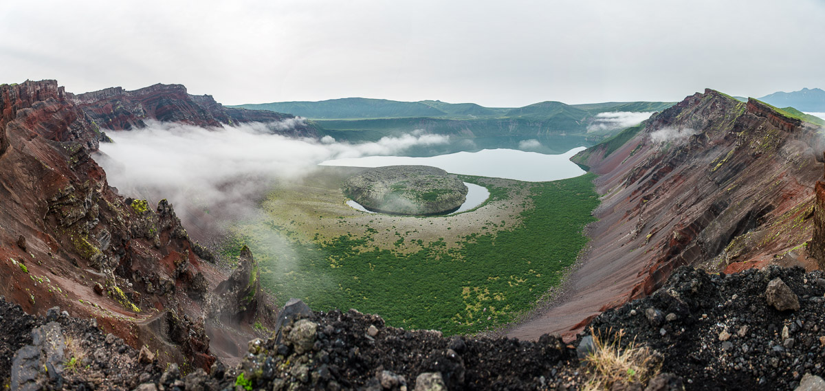 Симушир, вулкан Заварицкого