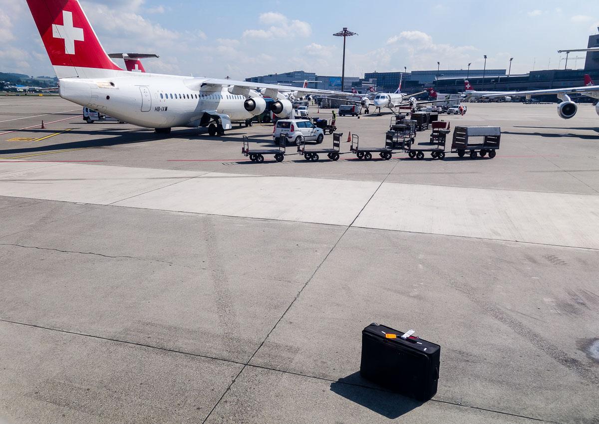 Очень одинокий чемодан