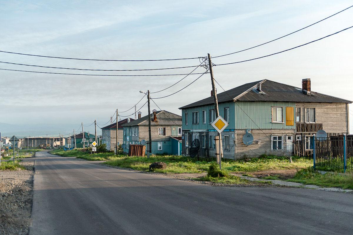 Курильские острова, Кунашир, Южно-Курильск
