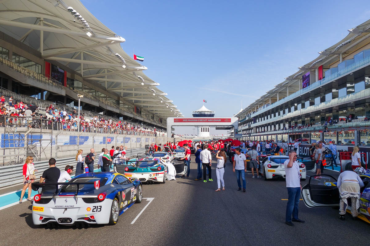 Абу-Даби, финал Ferrari Challenge