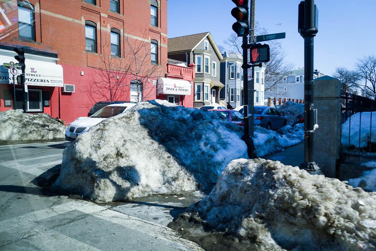 Зимний Бостон