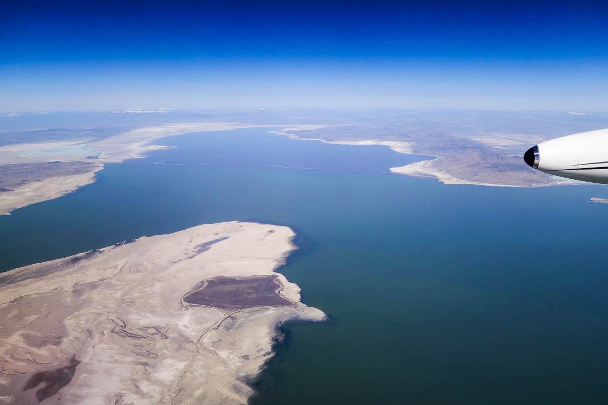 Юта, солёное озеро Бонневилль