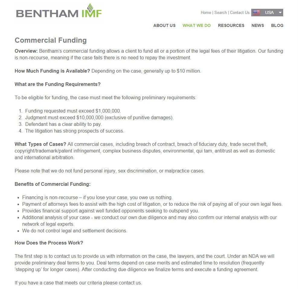 Bentham IMF