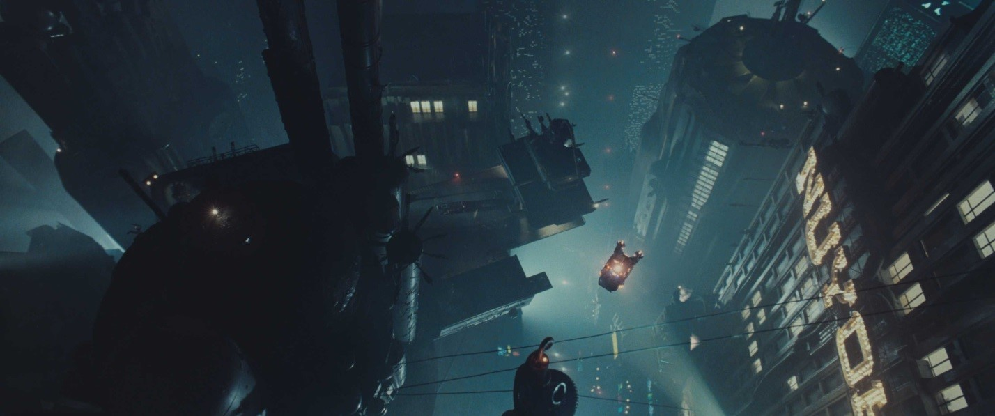 Иногда будущее оказывается мрачным. Кадр из кинофильма Blade Runner