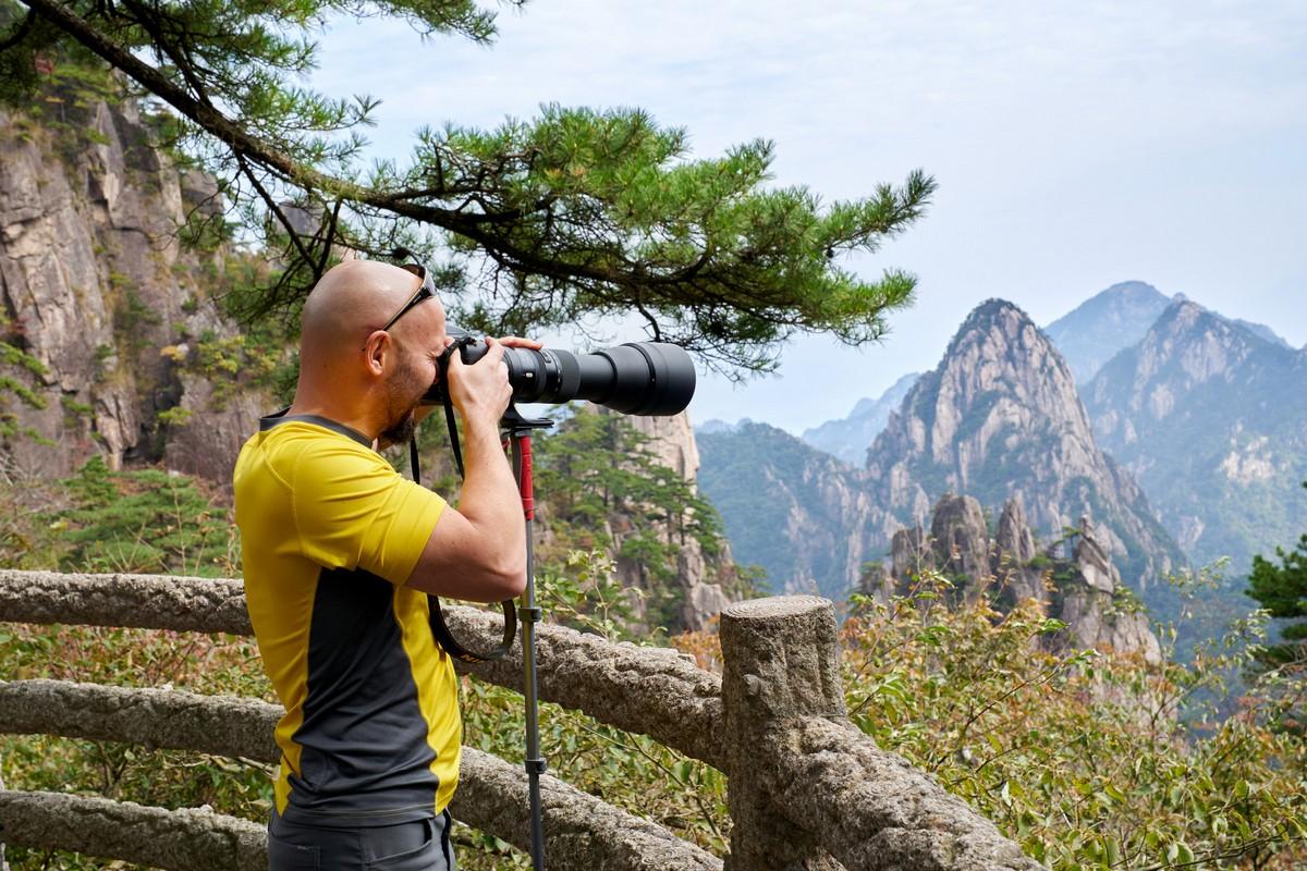 Вычурные пейзажи Жёлтой горы. Часть 2.