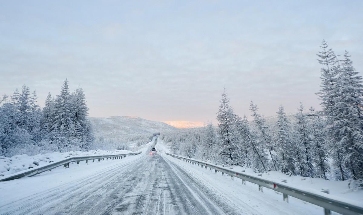 惊喜1-冬天的故事,在科雷玛公路