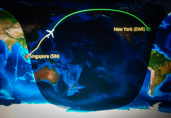 SQ22 - the longest flight in the world
