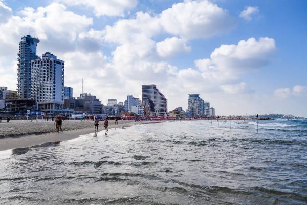 Beach time in Tel Aviv