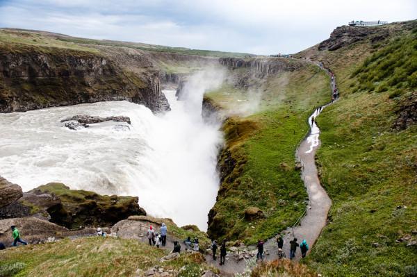 Il y a eu une proposition d'utiliser la cascade Gullfoss pour produire de l'électricité, mais ce projet n'a pas abouti car les habitants des environs ont lutté contre.