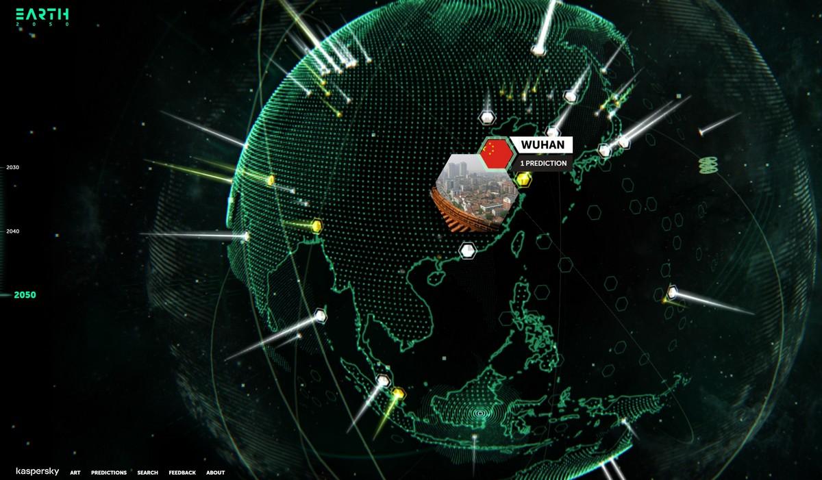 Earth 2050 : comment nous voyons le futur