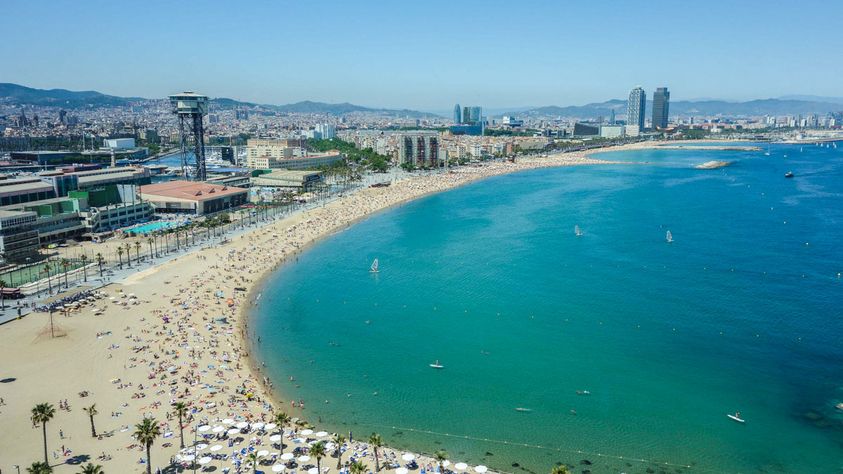 Barcelona got some gorgeous beaches