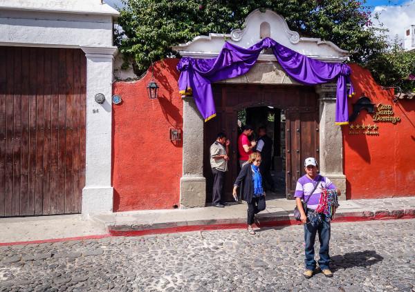 Отель-музей в Гватемале