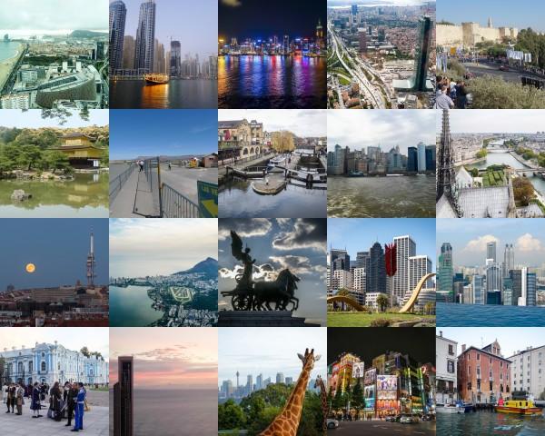 Топ-20 городов мира