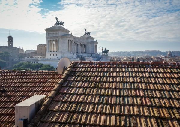 晴天のローマ