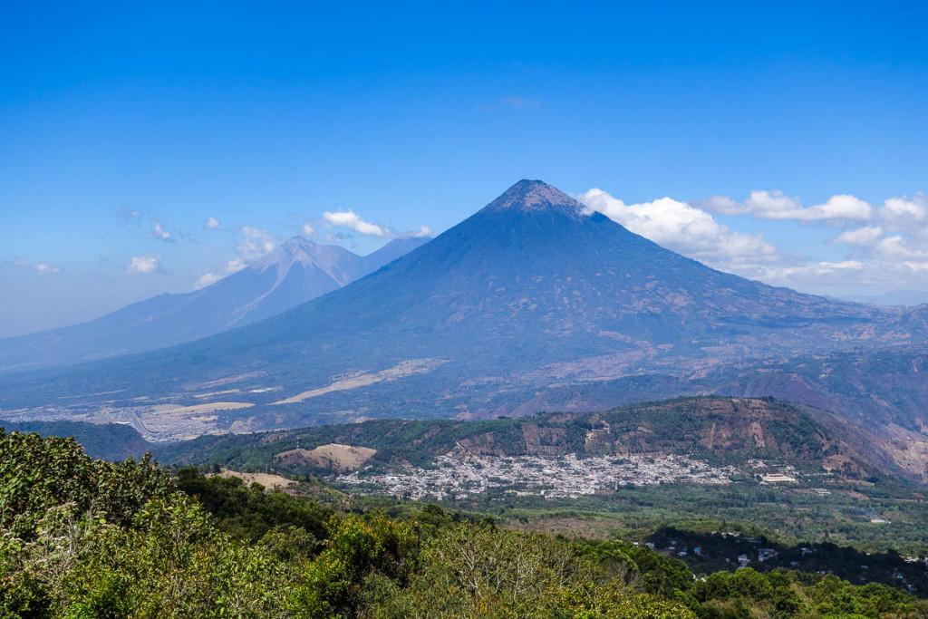 Guatemala volcanos