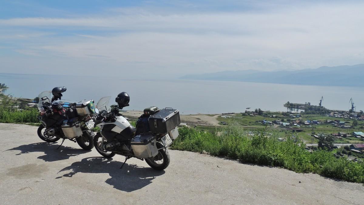 ブラジルのバイク乗り、シベリア...