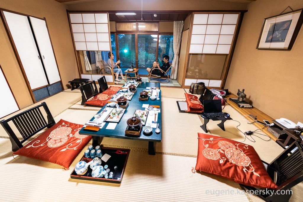 箱根の旅館:極上のひととき