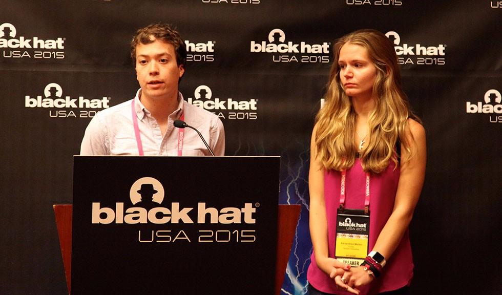 John Moore and Alexandrea Mellen