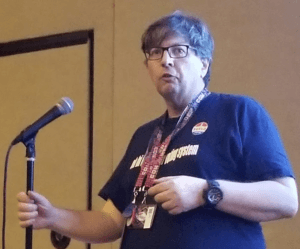 Matt Blaze speaking at DEF CON 2017