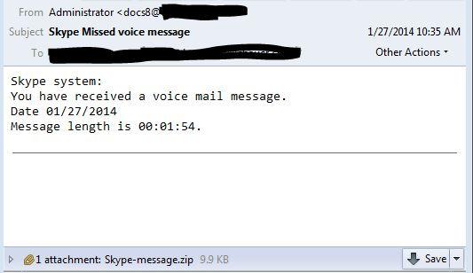спам для доставки шифрованного Gameover