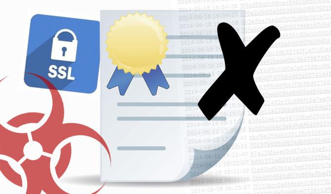 черный список SSL-сертификатов