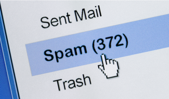 почтовый спам