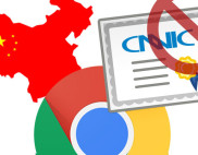 Google, Mozilla не доверяют сертификатам CNNIC