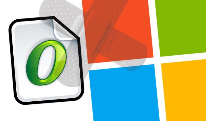 Microsoft - патч для обработчика OpenType