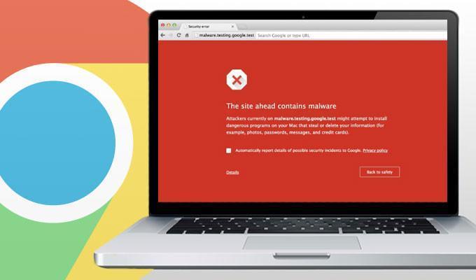 Chrome - предупреждения