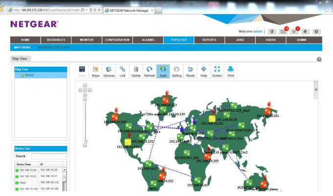 Netgear - система управления сетью