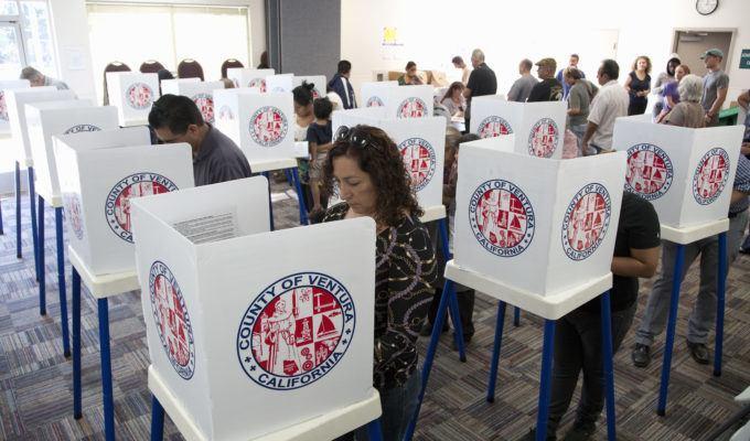 избиратели, голосование
