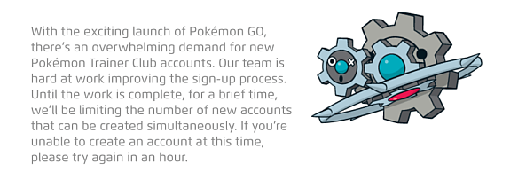 Pokemon Go - сообщение Nintendo
