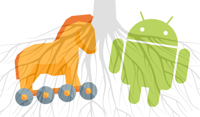 Android-trojan-rooting