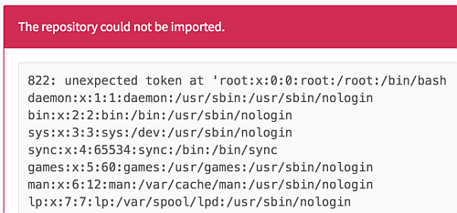 gitlab-import-error-message