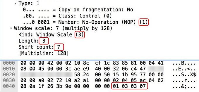 Incapsula - leet in SYN packet headers