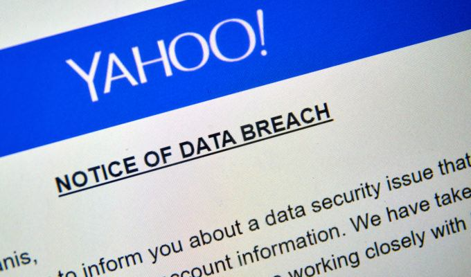 Yahoo breach notice