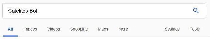 googling Catelites Bot