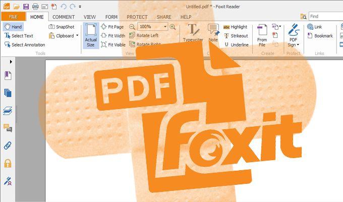 Foxit patch
