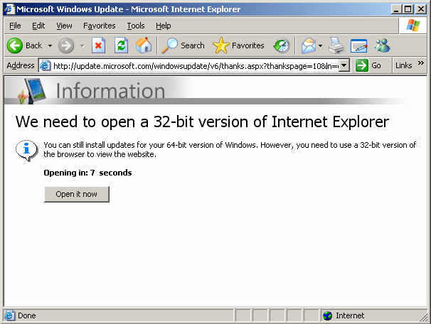 Exploring the x64-treme heights of the Internet | Securelist