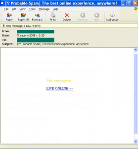 The number of emails containing malicious attachments increased...