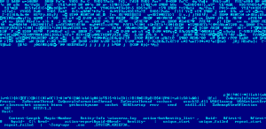 Part of the memory dump of the rootkit downloader from